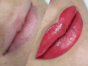 Larix Szépségstúdió - Bea - Ajaktetoválás